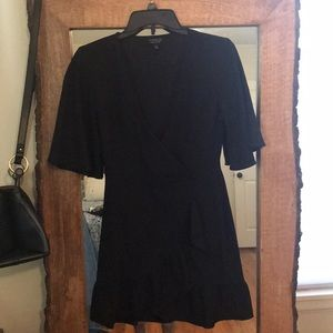 Topshop wrap mini Dress